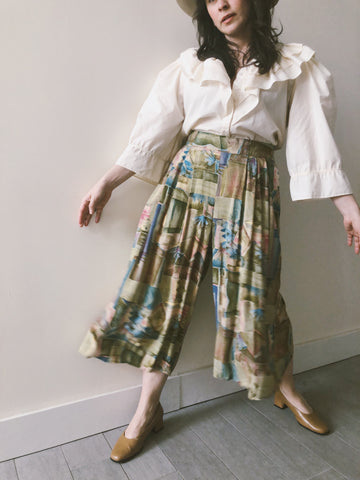 Watercolor Culottes
