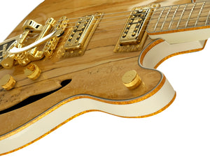 Volare, Aged White, Spalted Maple Top