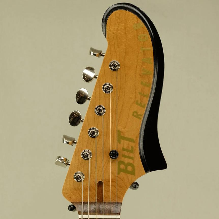 "Natural Relevator ""Shop Piece"" Guitar - Headstock Detail"