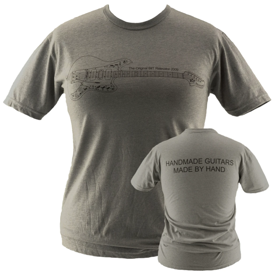 Original Relevator T-Shirt, Heather Gray