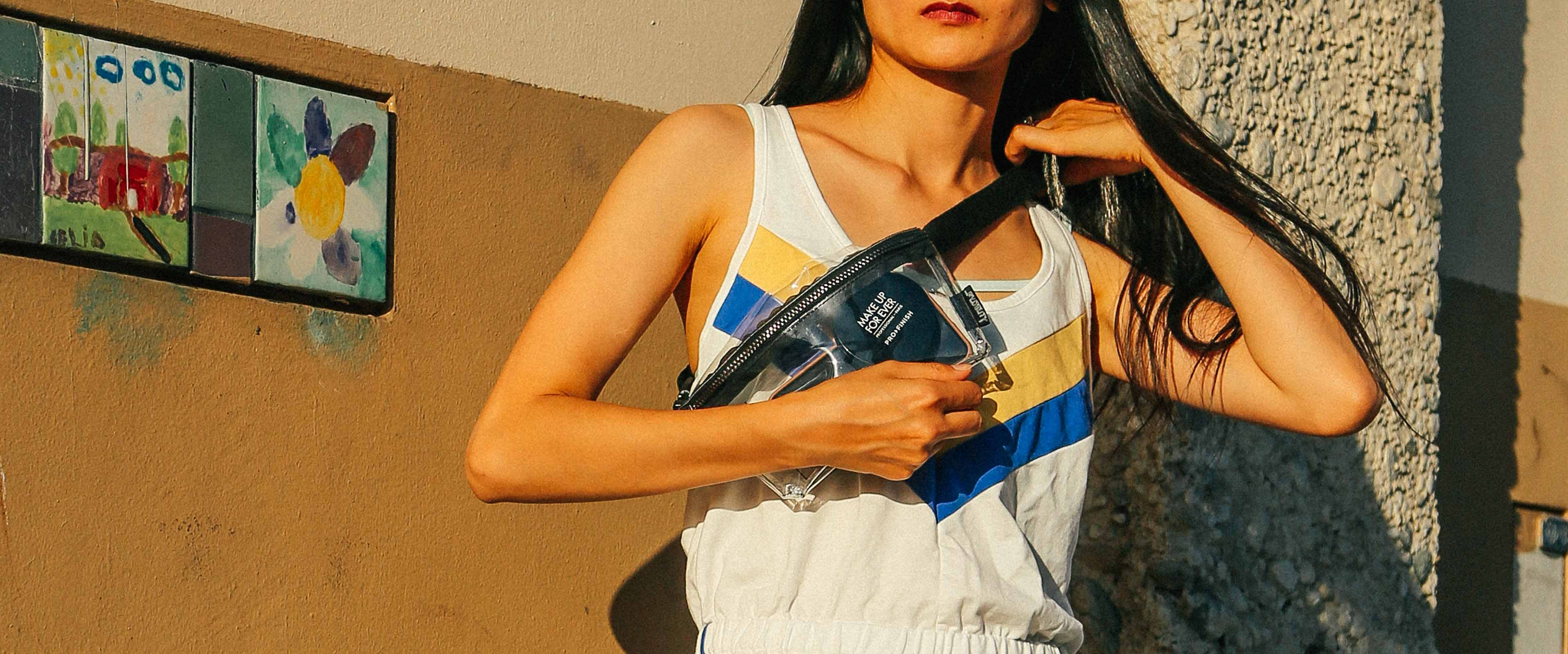 Fydelity Crystal Clear Fanny Pack