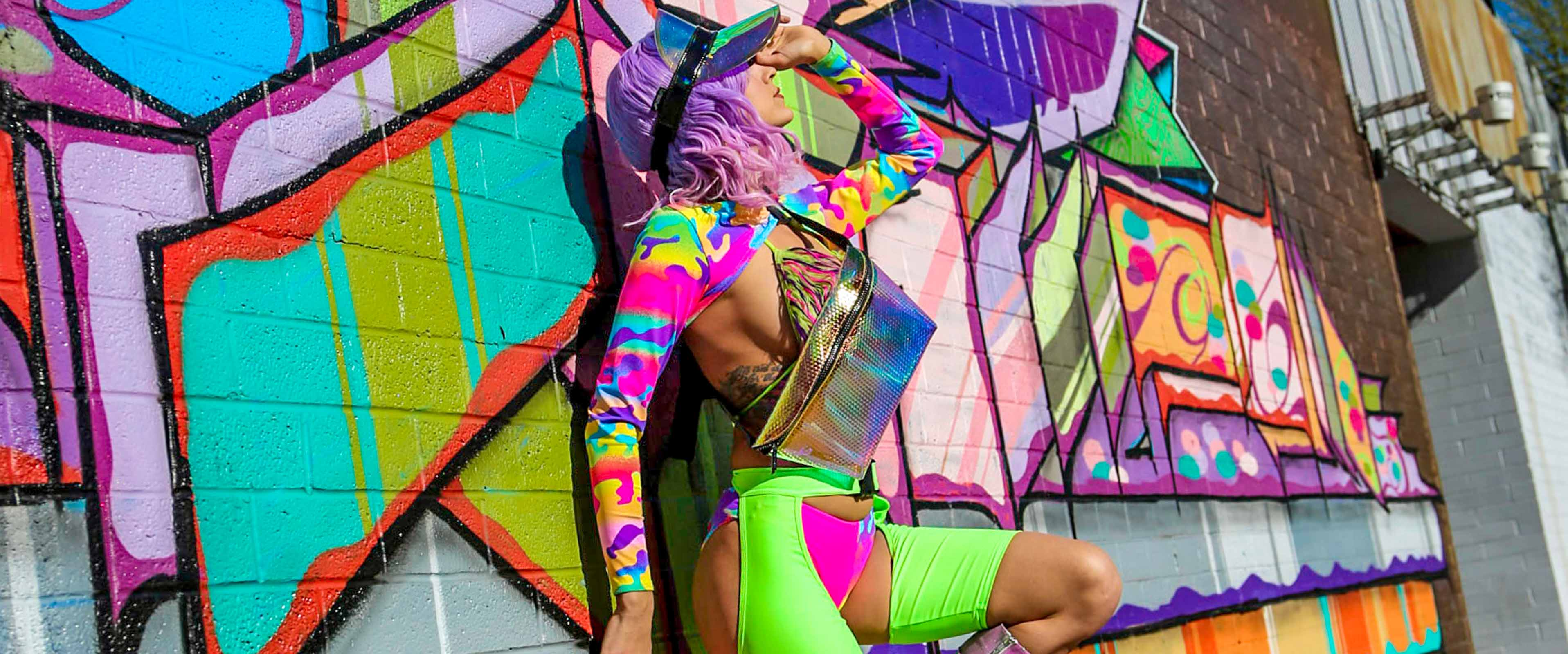FYDELITY HOLOGRAPHIC FANNY PACK