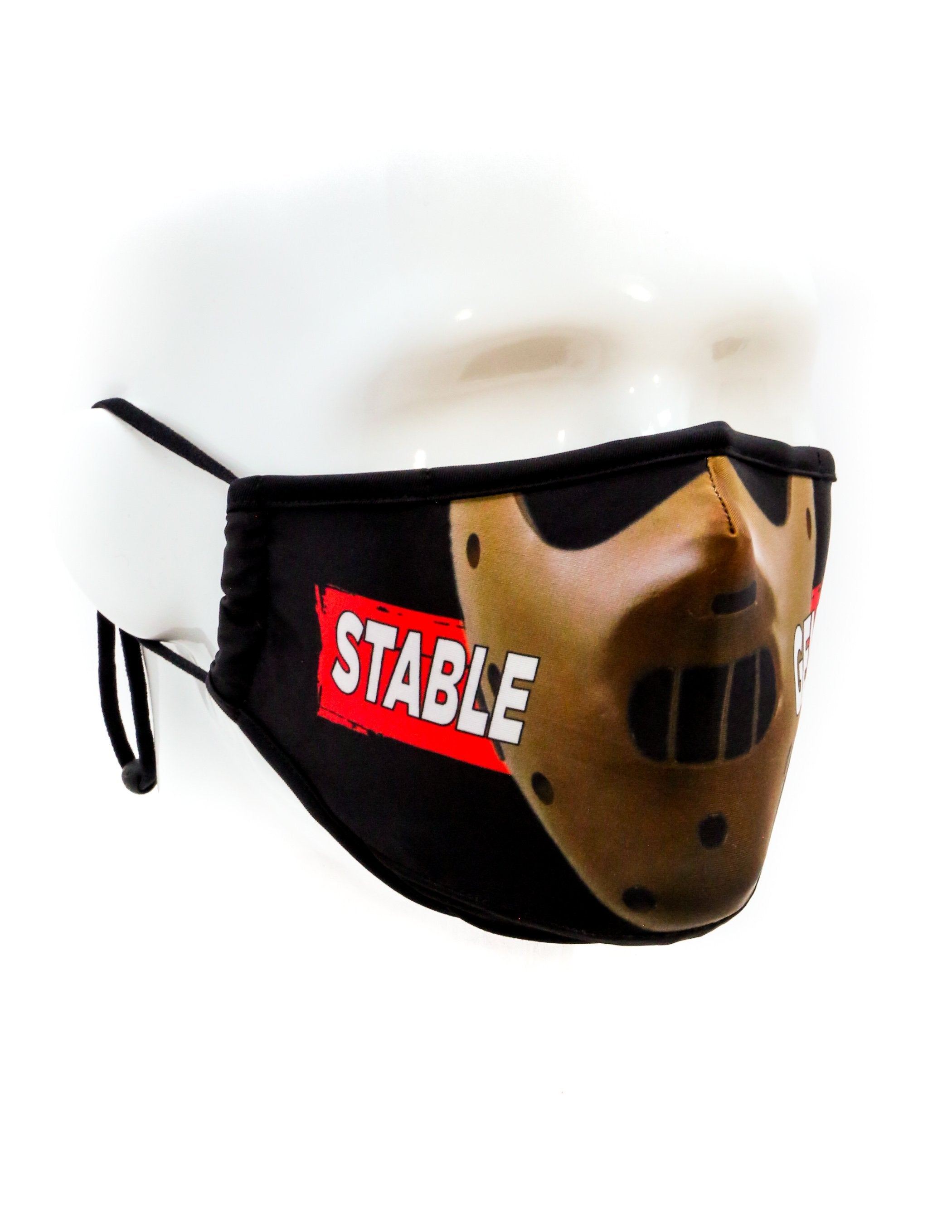 18036: FYDELITY- Premium Protective Fabric Face Covering Mask: Stable Genius