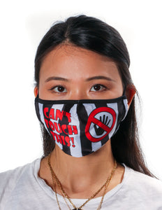 18047: FYDELITY- Premium Protective Fabric Face Covering Mask: Can't Touch This