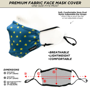 18185: FYDELITY- Premium Protective Fabric Face Cover- Twinkle Twinkle