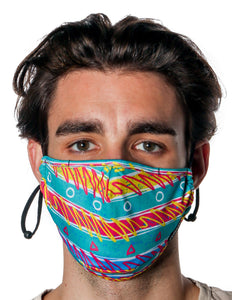 18207: FYDELITY- Premium Fabric Face Covering Mask | 90's FRIENDS