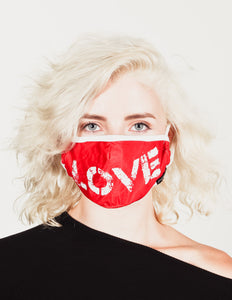 18214: FYDELITY- Premium Fabric Face Covering Mask | LOVE
