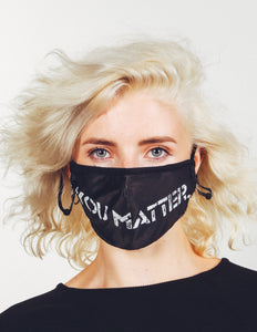 18220: FYDELITY- Premium Fabric Face Covering Mask | YOU MATTER