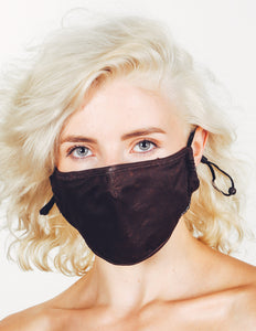 18226: FYDELITY- Premium Fabric Face Covering Mask | BROWN ACID