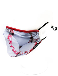18643: FYDELITY- KIDS Premium Fabric Face Covering Mask | Baseball