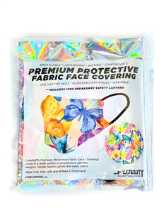 18245: FYDELITY- Premium Protective Fabric Face Cover | Butterfly
