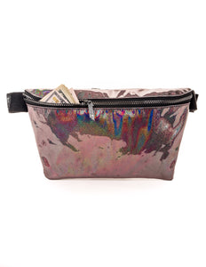 81573: FYDELITY- XL Ultra-Slim Fanny Pack: LASER Black