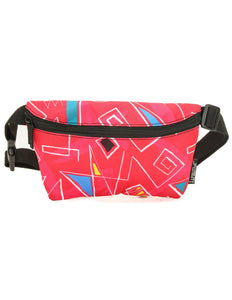 82915: FYDELITY- Ultra-Slim Fanny Pack: 80's Shoulder Pads Queen