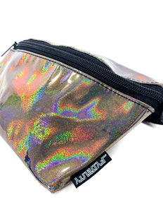 82973: FYDELITY- Ultra-Slim Fanny Pack: LASER Black