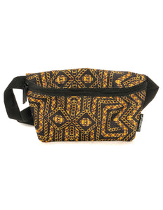 83064: FYDELITY- Ultra-Slim Fanny Pack: Gold Chains