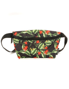 83066: FYDELITY- Ultra-Slim Fanny Pack: Hibiscus