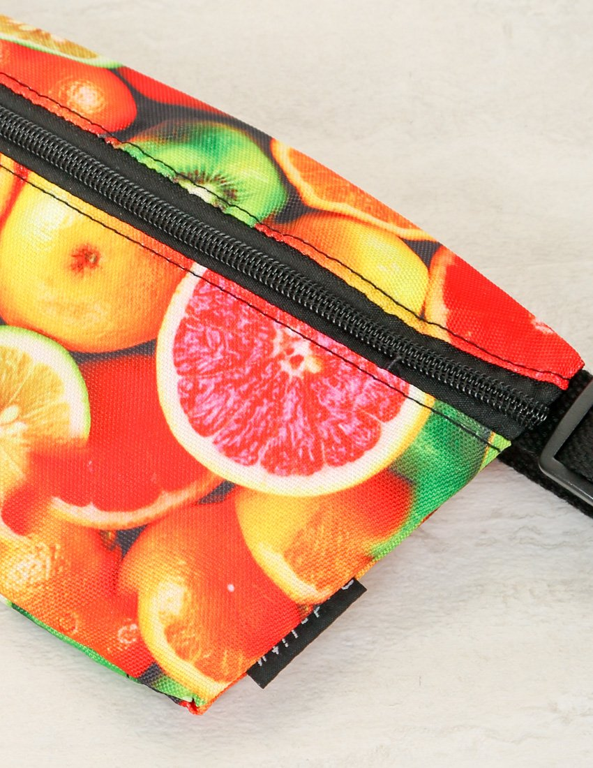 83111: FYDELITY- Ultra-Slim Fanny Pack: Citrus