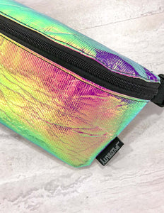 83229: FYDELITY- Ultra-Slim Fanny Pack: INTERPLANETARY Aura Spectral