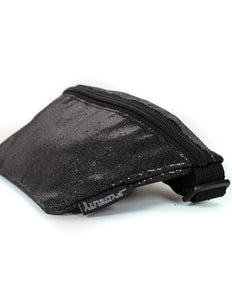 83266: FYDELITY- Ultra-Slim Fanny Pack: GLAM Black