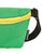 83270: FYDELITY- Ultra-Slim Fanny Pack: GAME DAY Green & Yellow