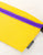 83279: FYDELITY- Ultra-Slim Fanny Pack: GAME DAY Gold & Purple