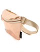 83812: FYDELITY- Ultra-Slim Fanny Pack: LUX MIRROR Rose Gold