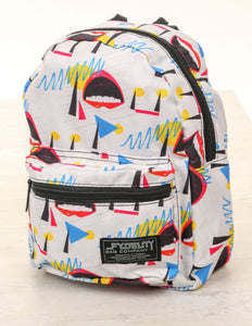 86010: FYDELITY- Mini Backpack: 80's Lipps Inc