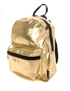 86201: FYDELITY- Mini Backpack: METALLIC Gold