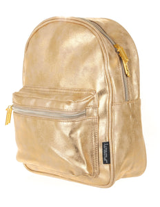 86222: FYDELITY- Mini Backpack: LUX DUSTER Gold