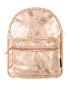 86223: FYDELITY- Mini Backpack: LUX DUSTER Rose Gold