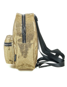 86233: FYDELITY- Mini Backpack: GLAM Gold
