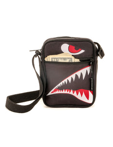 88361: FYDELITY- Sidekick Brick Bag: FLYING TIGER Black