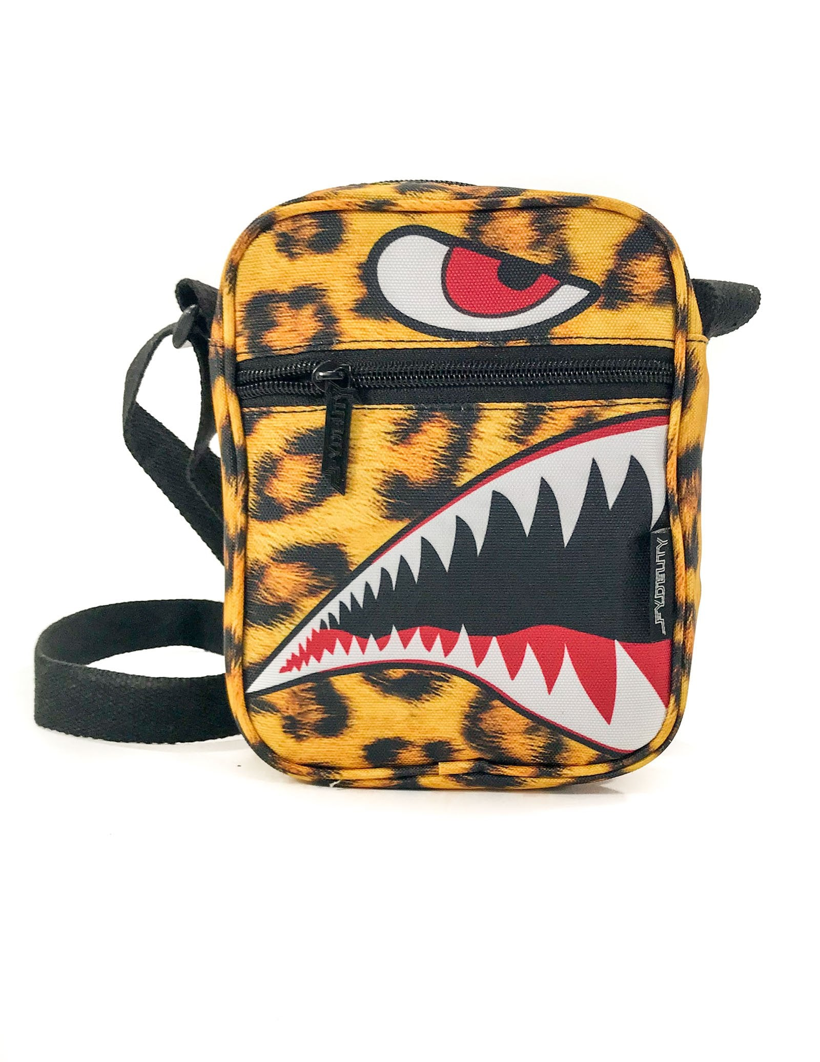 88363: FYDELITY- Sidekick Brick Bag: FLYING TIGER Cheetah