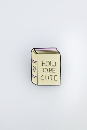 Cuteness Rulebook Pin