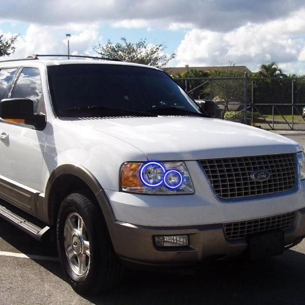 Ford Expedition (03-06) Halo Kit - Headlightleds.com