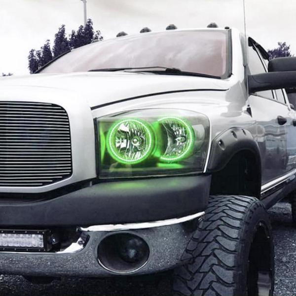 Dodge Ram (06-08) Halo Kit - Headlightleds.com