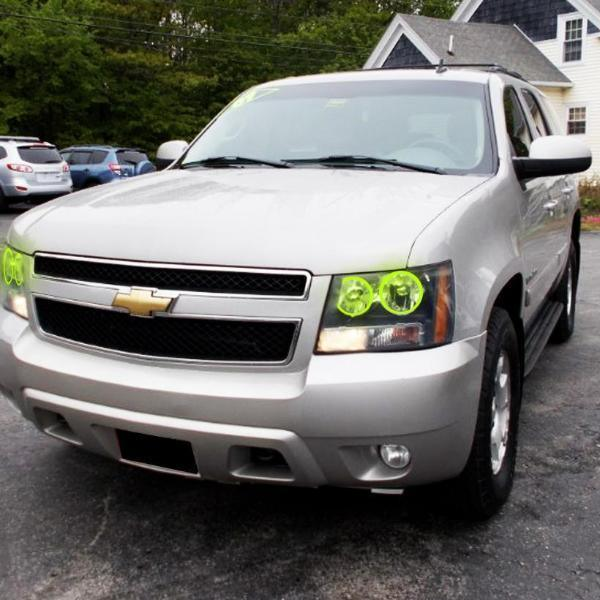 Chevrolet Tahoe (07-14) Halo Kit - Headlightleds.com
