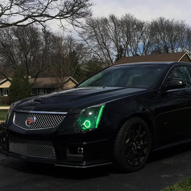Cadillac CTSV (08-14) RGBWA DRL Boards - Headlightleds.com