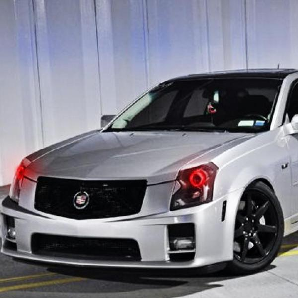Cadillac CTSV (09-15) Halo Kit - Headlightleds.com