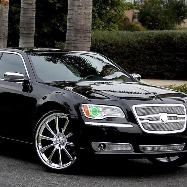 Chrysler 300C/SRT (11-16) Halo Kit - Headlightleds.com