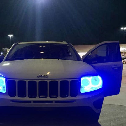 Jeep Compass (11-16) Halo Kit - Headlightleds.com