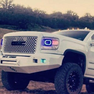 GMC Sierra (14-15) Halo Kit - Headlightleds.com
