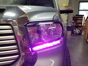 Toyota Tundra (14-17) RGBWA DRL Boards - Headlightleds.com