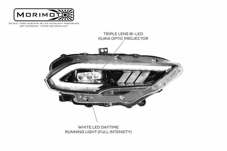 Ford Mustang (18-21) XB LED Headlights