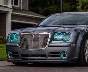 Chrysler 300 (05-10) Halo Kit - Headlightleds.com