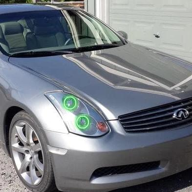 Infiniti G35 Sedan (03-05) Halo Kit - Headlightleds.com