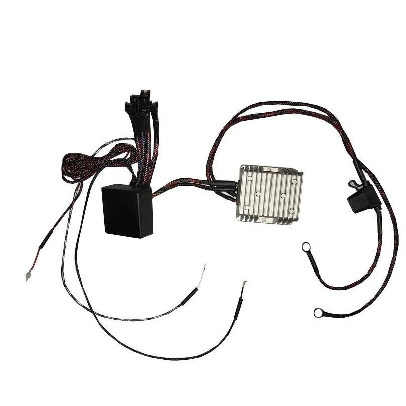 Flow Series Regulator with Harness | Built-In DRL + Sequential Turn Signal Features - Headlightleds.com