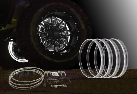 "Image of 15""-White-LED-Wheel-Light-Kit"