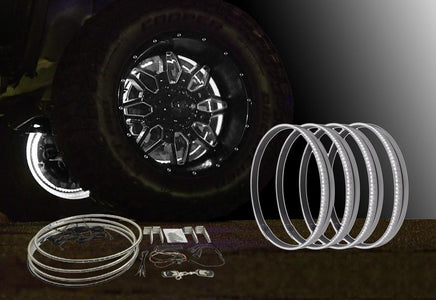 "15""-White-LED-Wheel-Light-Kit"