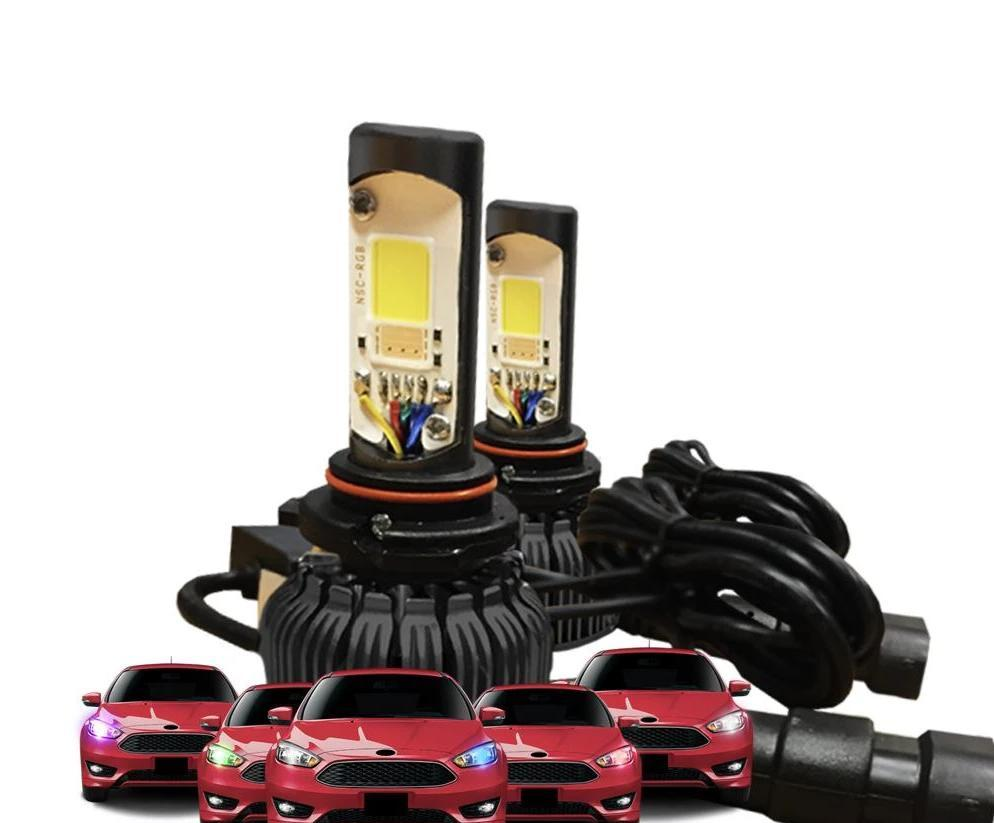 Krypto-Night Multi-Color LED Headlight Bulbs